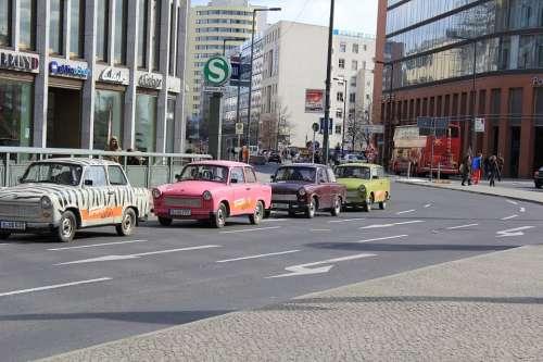Berlin Taxi Urban Street