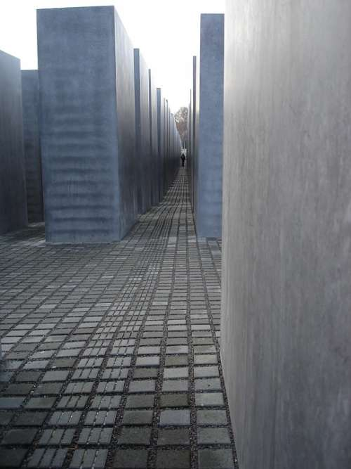 Berlin Holocaust Memorial Concrete Genocide