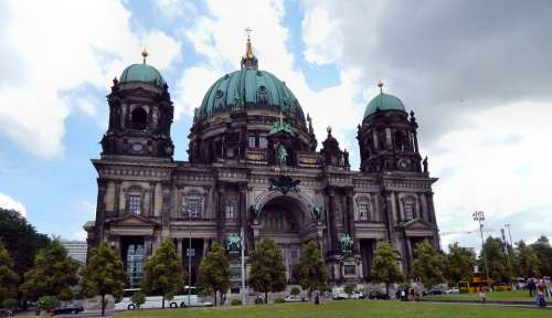 Berlin The Cathedral The Museum Monument Building