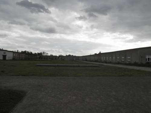 Berlin Sachsenhausen Concentration Camp Barracks