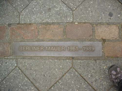 Berlin Wall Monument Germany
