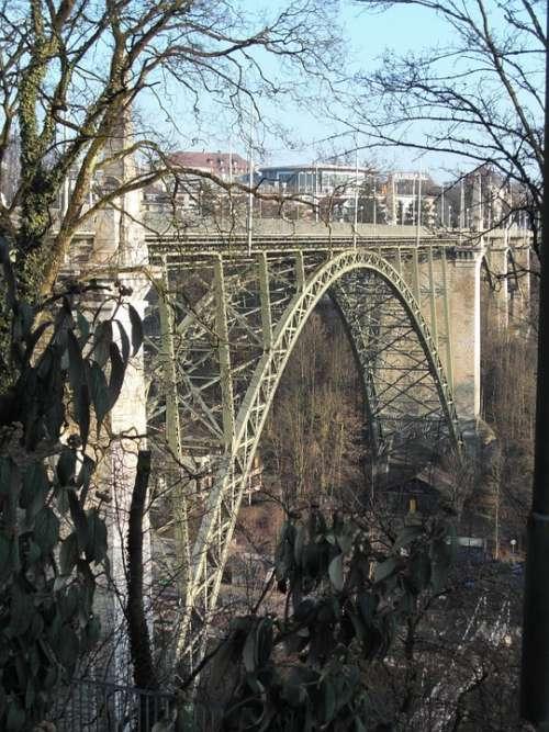 Bern Bridge Switzerland Steel Bridge Arch