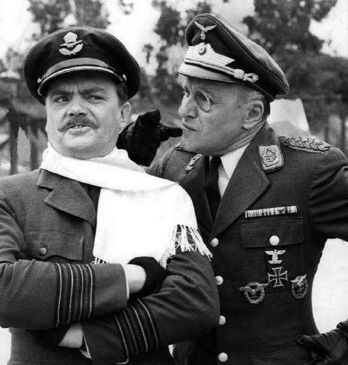 Bernard Fox Werner Klemperer Actors Tv