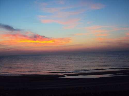 Bethany Beach Sunrise Atlantic Ocean Ocean Beach