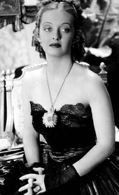 Bette Davis Actress Motion Pictures Movies Vintage