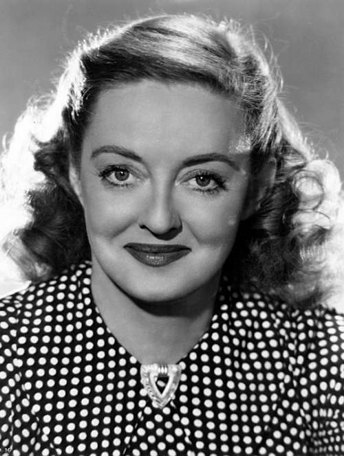 Bette Davis Actress Classic Movie Nostalgia