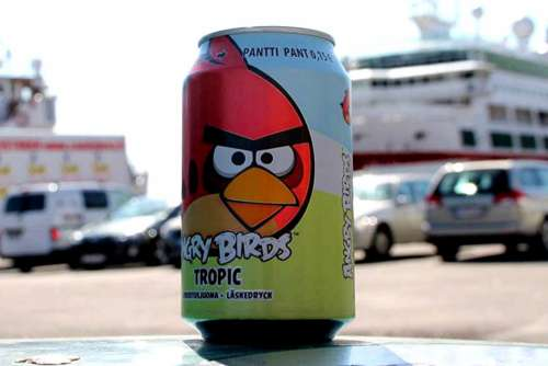 Beverage Can Rifle Box Angry Birds