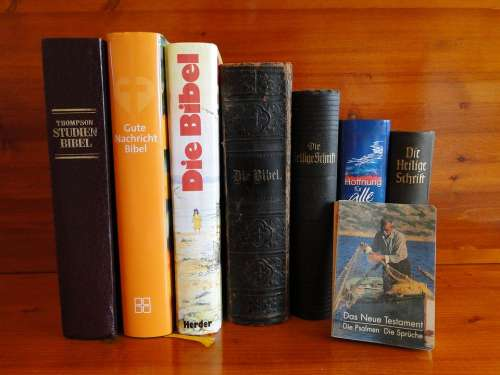 Bible The Holy Book Christianity Holy Biblical