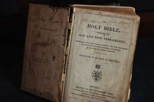 Bible Holy Christianity Faith Word Scripture