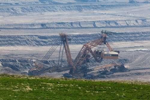 Big Bucket Wheel Excavator Coal Digging Equipment