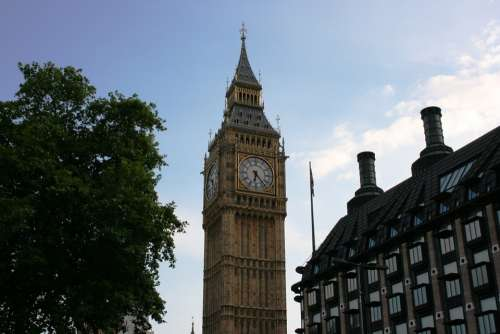 Big Ben Watch London England
