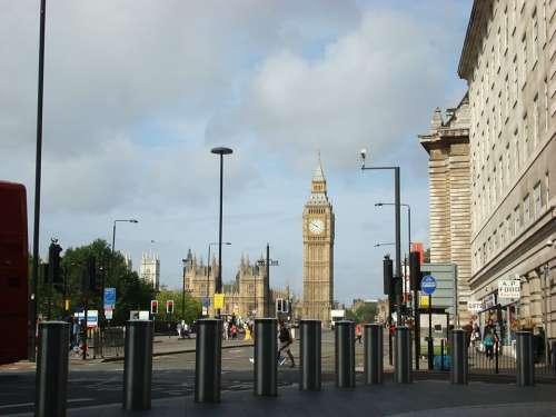 Big Ben London England Parliament Westminster