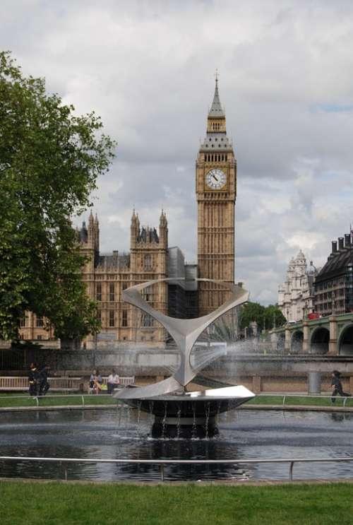 Big Ben Westminster Parliament Clock London