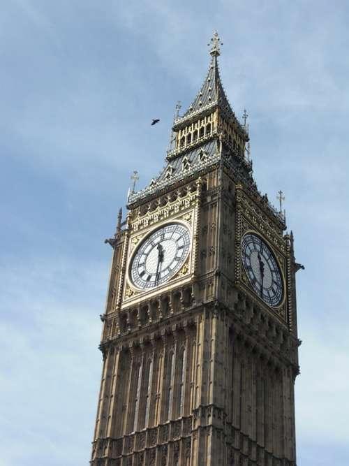 Big Ben London England United Kingdom Westminster