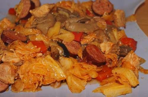 Bigos Herb Pot Eat Meal Delicious Healthy Food