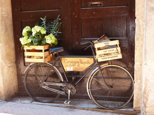 Bike Old Italy In The Free Two Wheeled Vehicle