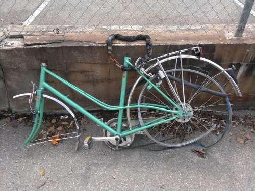 Bike Scrap Metal Scrap Stolen Broken