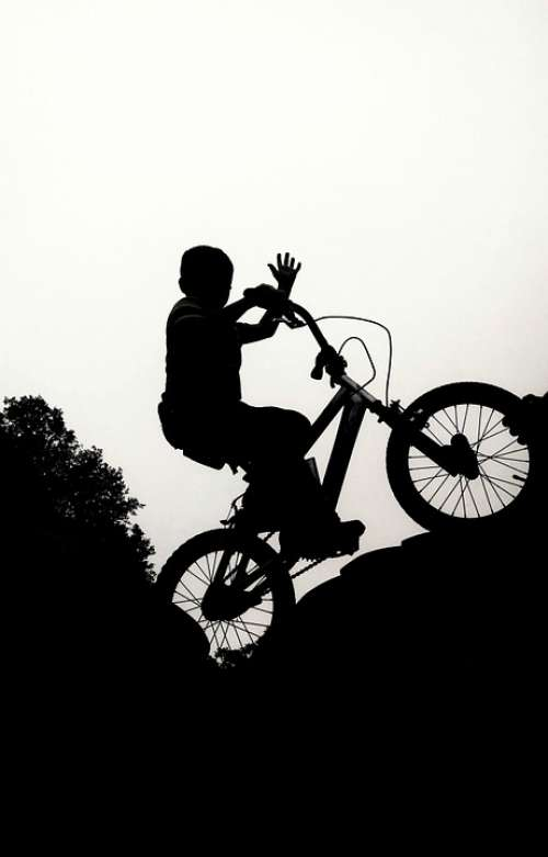 Bike Bmx Boy Race Bicycle Sport Ride Cyclist