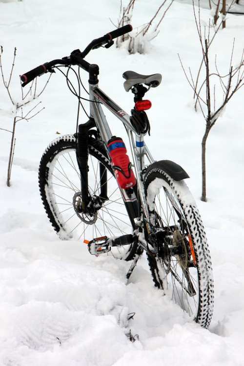 Bike Cold Cycling Mountain Riding Snow Tyres