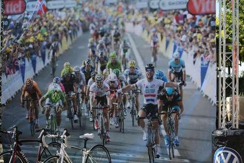 Bike Race Winner Race Event Bike Cyclist
