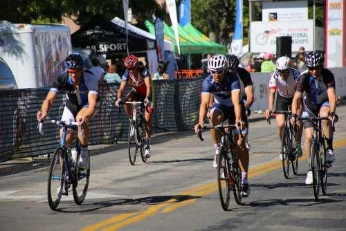Bike Race Bike Racers Racing Cyclists Bikers Race