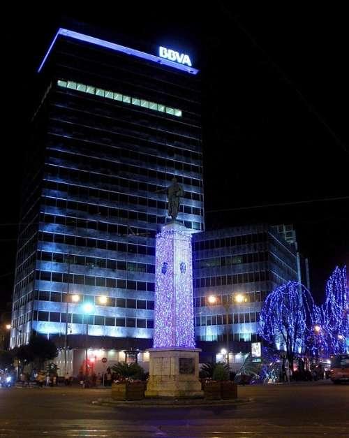 Bilbao Spain Buildings City Cities Urban Night