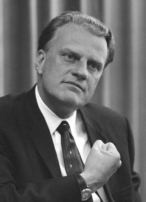 Billy Graham Christian Evangelist Man Person