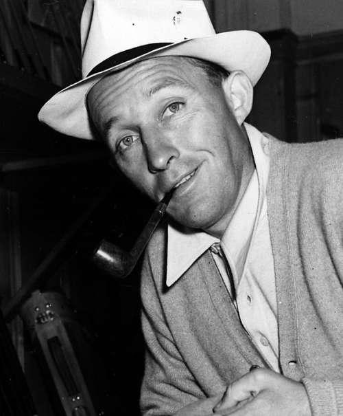Bing Crosby Singer Actor Vintage Hollywood