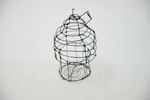 Bird Cage Art Molding Box Wire
