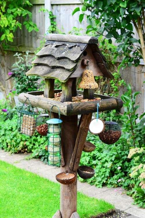 Bird Table Feeding Station Bird Food Garden Feeder