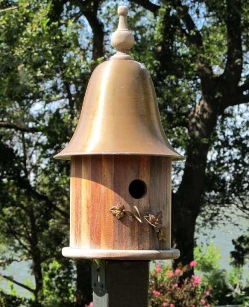 Birdhouse Birds House Nest Wooden Bird House