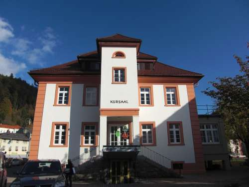 Black Forest St Blasien Kurhaus Kursaal