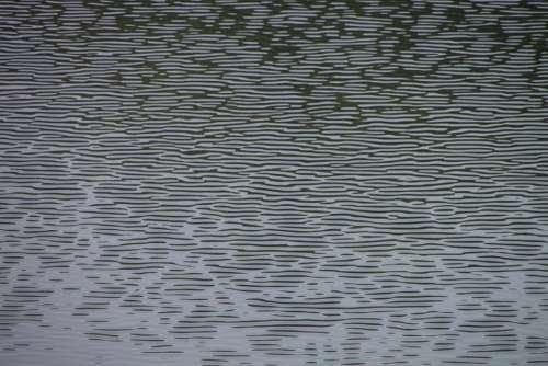 Blue Dark Lake Liquid Ripples Surface Water