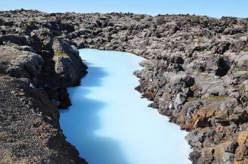 Blue Lagoon Iceland Nature