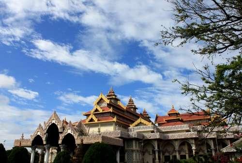 Blue Sky Museum Bagan Myanmar Burma