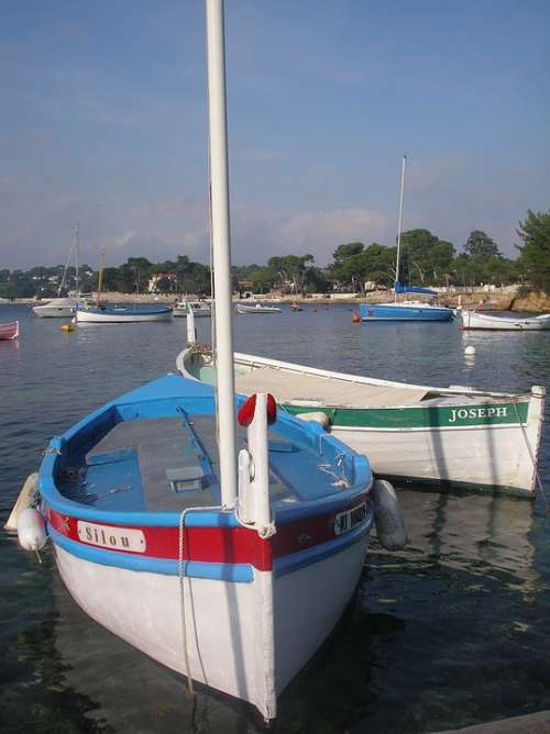 Boat Meditteranean Sea Italy France Sea Sail Boat
