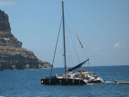Boat Canary Islands Nature