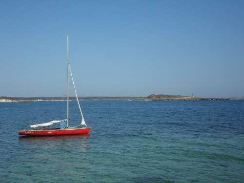 Boat Sailing Boat Anchor Concerns Water Sea Ship