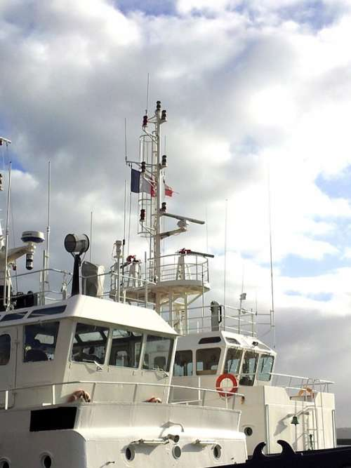Boat Ship Maritime Navigation Marine Tug