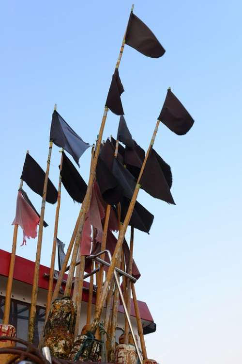 Boat Cutter The Fisherman Flags Flag