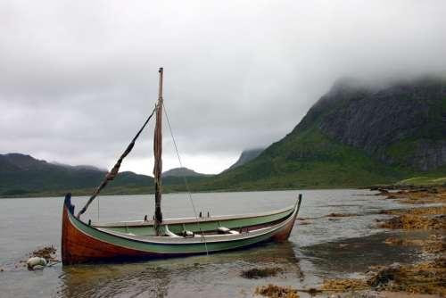 Boat Summer Fog