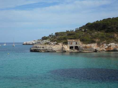 Boat House Maritime Sea Coast Rocky Coast Rocky