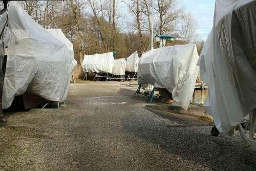 Boats Boat Port Stock Storage Winter Hibernate