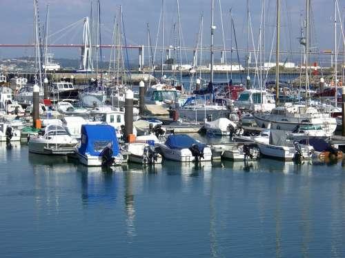 Boats Sea Port