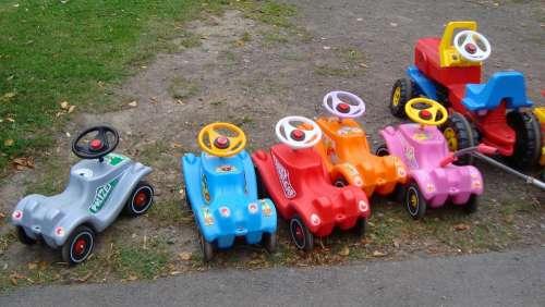 Bobby Car Children'S Vehicles Toys Bobby Car Races