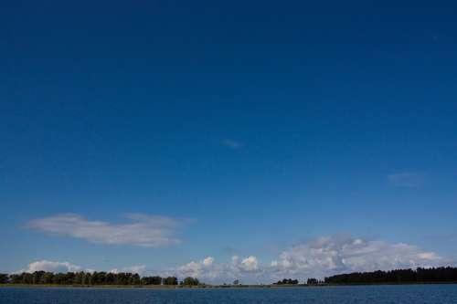 Bodden Landscapes Sea Baltic Sea Water Blue