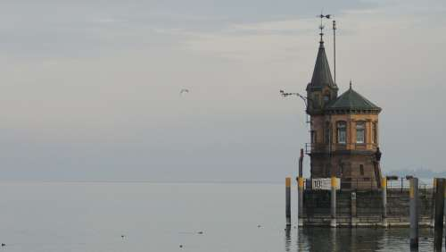 Bodensee Lake Water Nature Tower