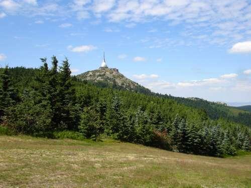 Bohemia Mountains Ještěd Lookout