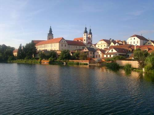 Bohemia Telč City Pond