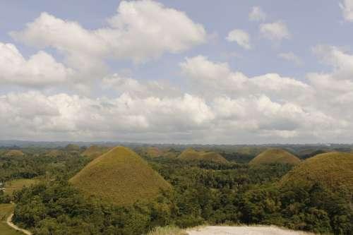 Bohol Chocolate Hill Sky
